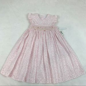 EdgeHill collection floral ruffle smocked dress